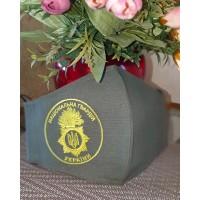 Маска багаторазова захисна з емблемою Національної гвардії України