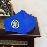 Захисна маска для обличчя з емблемою прокуратури