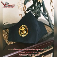 Захисна маска з емблемою Державної митної служби України (ДМСУ)