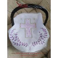 Салфетка «Пасхальный орнамент» с вышивкой