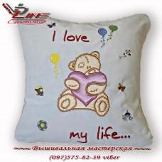 Детская подушка «Мишка Тедди»