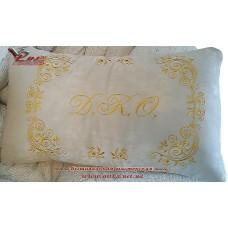 Индивидуальный пошив подушки, эксклюзивная вышивка