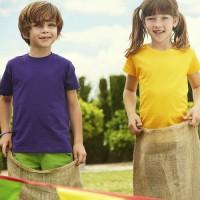Футболка детская с вышивкой спортклуба