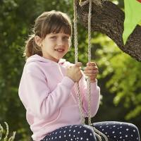 Детская толстовка Premium с капюшоном для вышивки