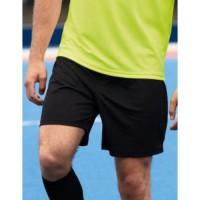 Шорты спортивные черного цвета под вышивку. Размеры S, XL